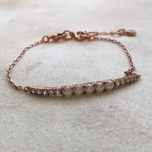Chloe + Isabel Petits Bijoux Pavé + Pearl Bracelet